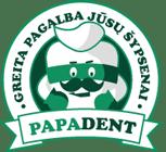 Papadent, UAB Dantų gydytojas Logo
