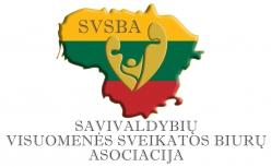 Savivaldybių visuomenės sveikatos biurų asociacija Logo