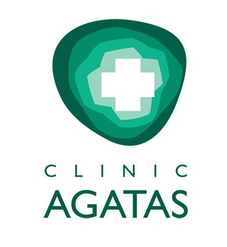 """Klinika """"Agatas"""", UAB Logo"""