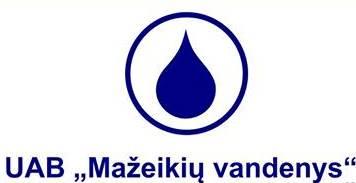 Mažeikių vandenys, UAB Logo