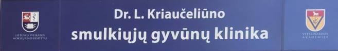 Dr. L. Kriaučeliūno smulkiųjų gyvūnų klinika Logo