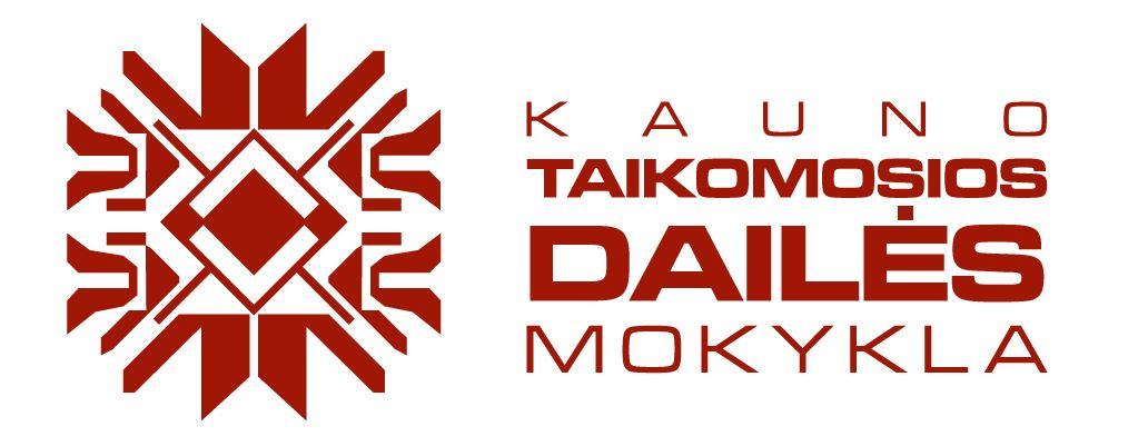 Kauno taikomosios dailės mokykla Logo