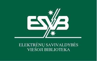 Elektrėnų savivaldybės viešoji biblioteka Logo
