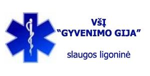 Gyvenimo gija, VŠĮ slaugos ligoninė Logo